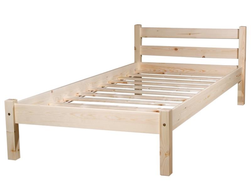 Кровати односпальные из сосны
