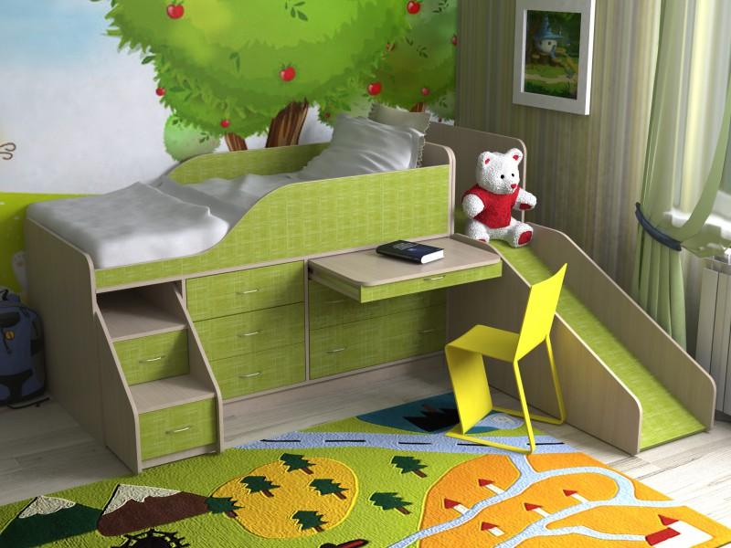 25300 руб детский уголок с кроватью