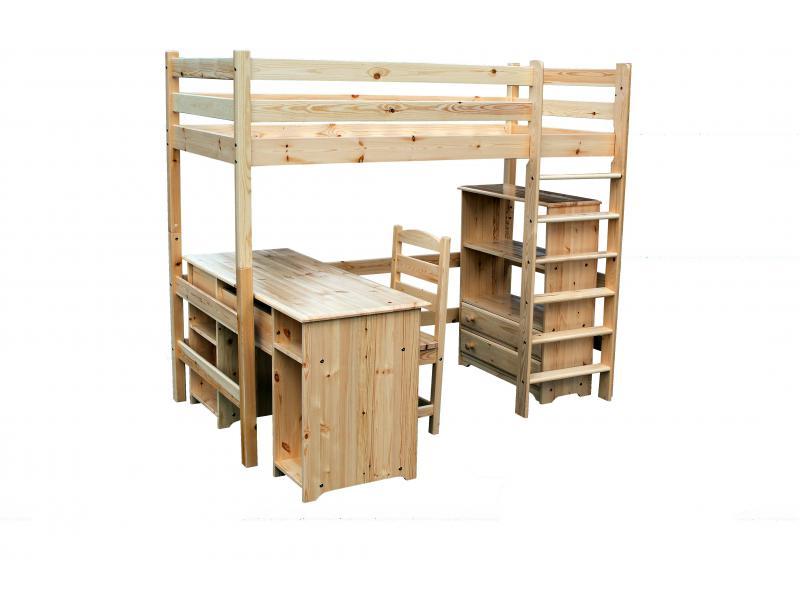 Двухъярусная кровать из поддонов